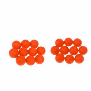 HomeDecTime 20x Balles de Golf en Mousse Balle de Pratique Intérieure en Plein Air pour