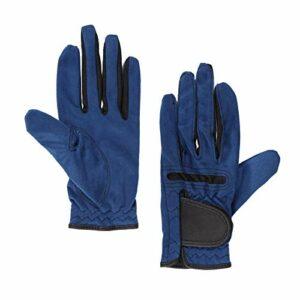 LKHF Élastique Respirant réglable d'équipement de Golf de Gants de Golf Bleus pour Les Femmes d'activité de Plein air