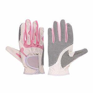 LKHF Gants de Golf Femme Gants de Golf en Microfibre Gants de Golf antidérapants Dame de Golf Protecteur pour Femme Golf