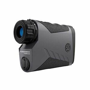 Sig Sauer Kilo 2200 BDX Télémètre laser 7 x 25 mm (3 300 yards) – pour tir, chasse, golf – Se connecte avec une lunette BDX et une application smartphone via Bluetooth
