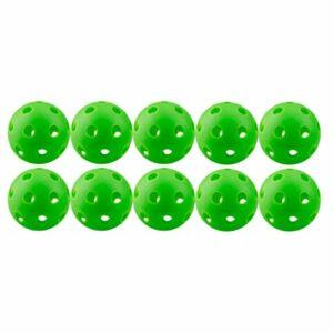 WOVELOT 10 PièCes SéRies VéRitable Vol Frappant Les Balles de à Impact, RéSistant Aux Bosses et Durable, Alternative Plus Forte