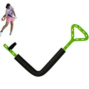2021 New Golf Swing Guide Training Aids Arm Posture Corrector Too,Golf Swing Trainer for Beginners Professionals (Green)