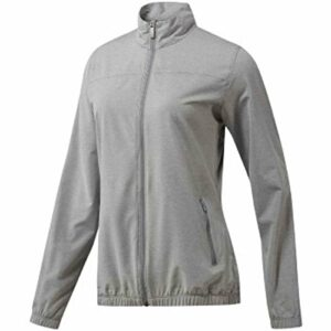 adidas Golf pour Femme Essential Full Zip Coupe-Vent pour Femme, Femme, Grey Three, Moyen