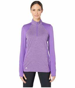 adidas pour Femme au-delà de 18pour Homme Demi Fermeture Éclair, Femme, TW4003S9, Active Purple, Petit