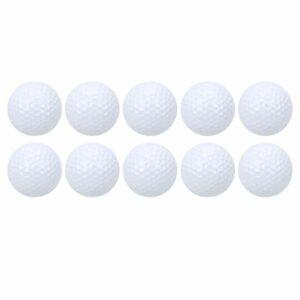 Balles de Pratique, balles de Mise en Forme de Coque en résine synthétique thermoplastique Bonne élasticité pour Les Sports de Plein air pour la Pratique pour Le Jeu pour Le Joueur