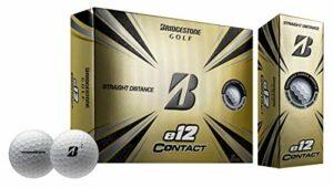 Bridgestone Golf E12 Contact Blanc