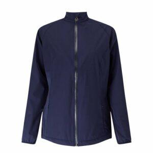 Callaway Full Zip Veste de Golf pour Femme L Bleu