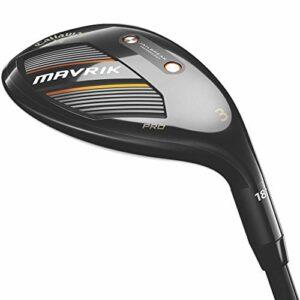 Callaway Golf 2020 Mavrik Pro Hybrid (main droite, graphite, rigide, 3 hybride).