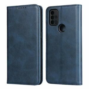 Flip Etui Coque pour Oneplus Nord N10 5G (Bleu)