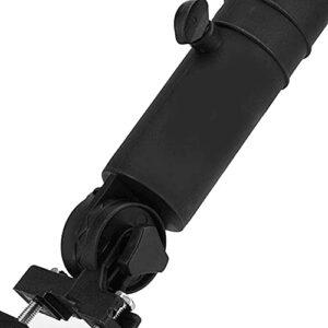 Gmasuber Support de parapluie pour chariot de golf, solide et durable, noir pour poignées de chariot de golf