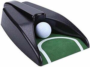 Gobelet de putting automatique de golf pour intérieur et extérieur, cour et bureau