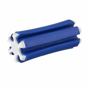 hemao Golf Club Organiser Clips,Golf Club Holder Organiser,Golf Club Carrier Mini,Golf Club Holder Fixing Clip Storage Tool,Can Hold 6 Golf Clubs,6 * 14.5cm (Blue)