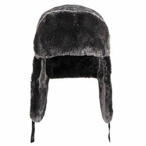 lulu Hiver protection de l'oreille chapeau hommes équitation chapeau de neige chapeau coupe-vent froid chaud plus velours épais chapeau de coton Lei Feng chapeau