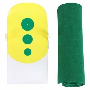 Putting Mat-Portable Golf Vert Intérieur Putting Mats Tapis de Putter pour la Pratique du Golf Professionnel