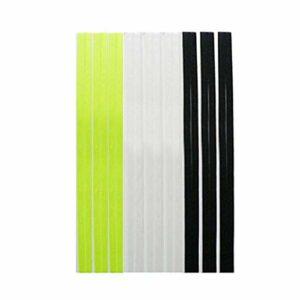 ransiy Lot de 9 bandeaux à double bande en silicone pour homme et femme