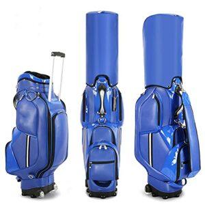 Sac de Voyage de Golf de Haute qualité, Sac de Transport de Support de Golf à Roues Luxueux Sac de Clubs de Golf, Sac de Support de Golf Haute capacité d'aviation