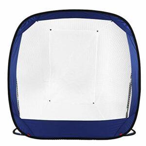 TAKE FANS Filets de frappe de golf d'intérieur pliable avec sac de rangement, filet d'aide à l'entraînement