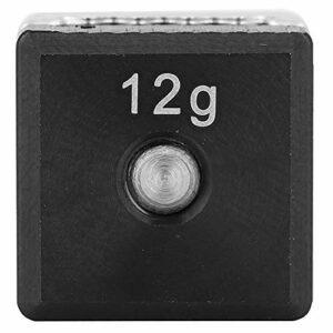 TANKE 1 vis de poids de club de golf en alliage durable pour accessoires d'entraînement de golf 1,4 x 1,4 x 0,6 cm 12 g