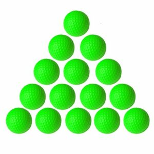 VUXYMCY Balles de golf en mousse PU élastique pour entraînement intérieur et extérieur