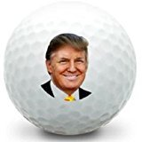 3Douzaine (Président Donald Trump Logo Limted Edition) Callaway Mint Balles de golf