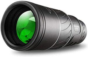 6×52 Télescope Monoculaire Compact Télescope Imperméable avec Lentille FMC BAK4 Prism Portant Une Lanière De Sac pour des Jeux De Balle De Concert