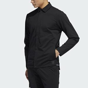 adidas Adicross Warp Knit Veste pour homme, Homme, Blouson, Adicross Warp Knit Jacket, noir, Medium