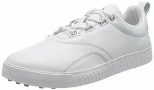 adidas W Adicross Ppf, Chaussures de Golf Femme, Blanc (Blanco/Plata Bb8027), 44 EU