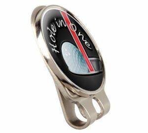 Asbri Trou dans One Fusion Clip pour Casquette ou Chapeau et marqueur de Balle de Golf magnétique Golf Relève-Pitch aux