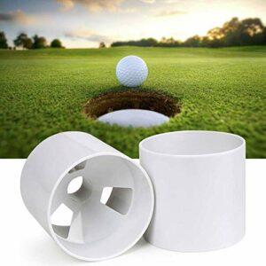 Bogey de Putting Green   2 pcs   Golf Hole Putting Cup   L' Accessoire indispensable pour votre Putting Green, Conforme à la réglementation USPGA
