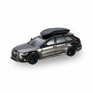 BWHM Modèle De Voiture en Alliage Collectionnable Statique 1/64 Alliage Mini Voiture Modèles pour Audi Rs6 Voyage Voyage Véhicules Enfants Véhicules Accueil Décoration Cars De Sport (Color : 2)