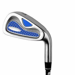 Cale de golf Hommes Femmes Indoor et Outdoor Pratique de golf Clubs de golf Droitier Stable Putter de golf 7 Exercices pour hommes Pole Golf Set de fer de golf ( Couleur : M , Taille : Carbon rod )