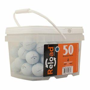 Callaway Chrome Doux de Golf de récupération Balles de Golf (Lot de 50)