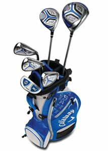 Callaway Golf 2018 Xj Junior Set, Level 2, 6 Piece Set, Right Hand, Blue