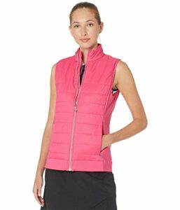 Callaway Lightweight Quilted Vest sans Manches, Sorbet Framboise, S Femme