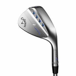 Callaway MD5 Jaws Cale Mixte, Chrome Platine, 52.0 Degrees