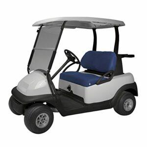 Classic Accessories de Parcours de Golf Cart Diamant Air en Maille Banc Housse de siège, Mixte, Bleu Marine