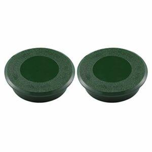 CLISPEED 2 Pièces Trou De Golf Tasse Vert De Golf Percer des Trous en Plastique Mettre Golf Tasse De Golf Pratique Tasse pour Cour Jardin Formation