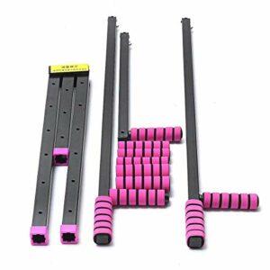 Durable Sport 3 Bar Pieds en métal Ballet Leg Ligament Extension Brancard de Split machine Flexibilité Outils de formation professionnelle Équipement de remise en forme, équipement de remise en forme