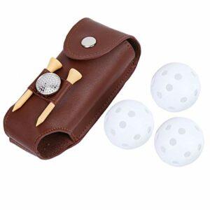 FOLOSAFENAR Sac de Balle de Golf Portable de Grande capacité pour Les Joueurs de Golf pour Cadeau pour Les Amateurs de Golf pour l'entraînement Sportif en Plein air