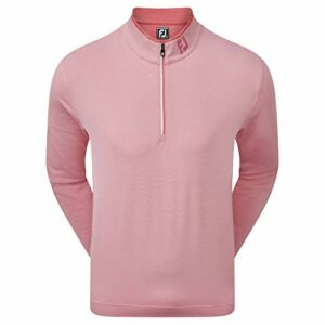 Footjoy Lightweight Microstripe Chill-Out Pull pour homme Rouge XL