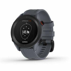 Garmin Approach S12 010-02472-01 Montre GPS de golf facile à utiliser 42 K + Courses préchargées Bleu granit