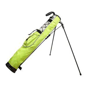 GGGJ Sac de Support de Golf léger Facile à Transporter Pitch Idéal pour Parcours de Golf et Voyage 80cm x 76cm,Jaune