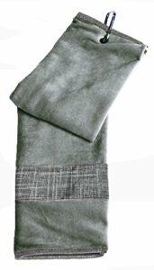 GloveIt Gant Il Serviette pour Femme, Mixte, T233, argenté, Taille Unique