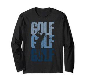 Golf vintage | Golfeur Manche Longue