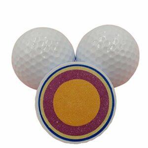 GYN Balles De Golf Standards,Balle De Golf Blanc,Ballon Golf Super Far Distance,Golfballs Hommes Femme Qualité SupéRieure,80 pcs