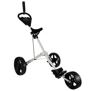 HJQFDC Chariot de golf léger à 3 roues avec support pour bouilloire