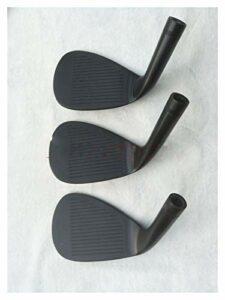 Huiyue Golf Club Wedge Black S8 Golf Wedge 50/52/54/56/58/60 R/S Acier/Arbre Graphite Livraison Gratuite Fast Clubs de Golf (Color : 7 Only Heads)