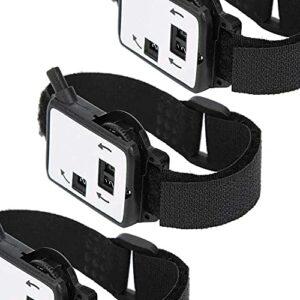 junmo shop Compteur de score, type de montre, 3 pièces, compteur de score, durable, pratique à porter pour les amateurs de maison