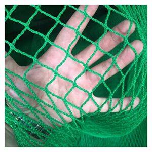 KGDUYH Filet de golf pliable résistant aux chocs – Bordure en corde de 3 m x 3 m avec sangles autocollantes sur les 4 côtés pour le jardin en extérieur (couleur : comme sur la photo)