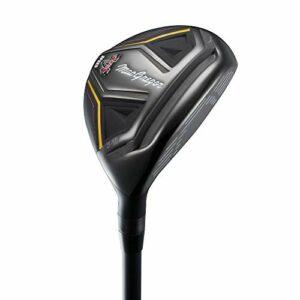 MacGregor V Foil Speed Hybrid Club de Golf en Acier Inoxydable pour Homme Noir 21 degrés
